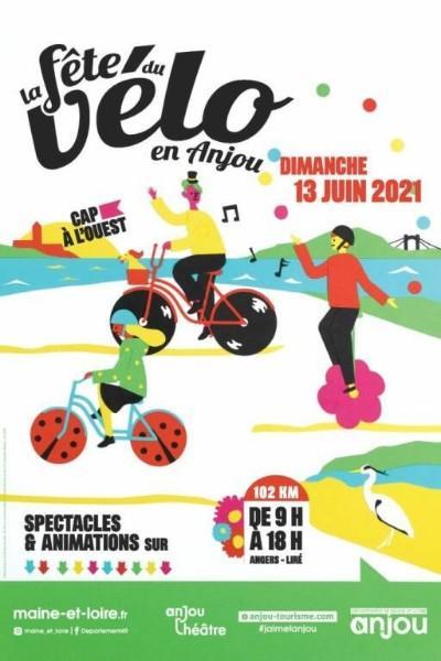 La fête du vélo en Anjou le dimanche 13 juin 2021