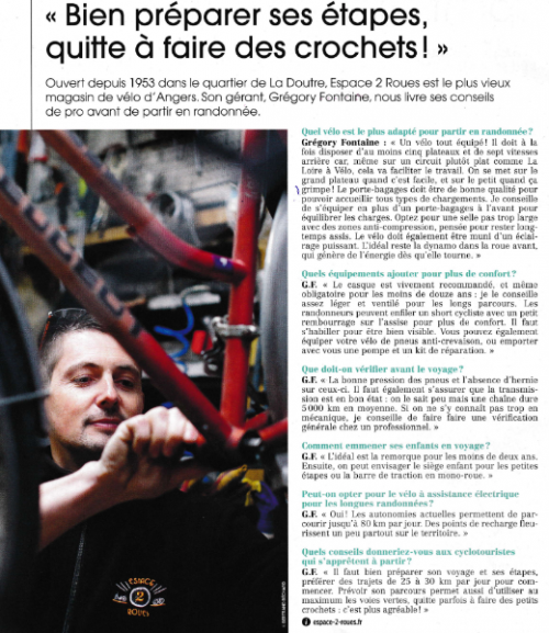 Interview par le magazine