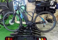 location porte Vélo sur attelage pour 4 vélos