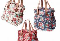 Sacoche shopper Bloom basil