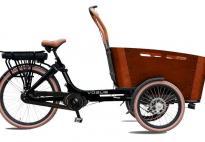 Triporteur Carry vogue electrique Moteur Bafang central motor Max Drive