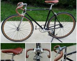 Vélo vintage Noir
