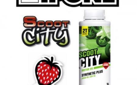 Huile 2 Temps IPONE fraise -  1 litre