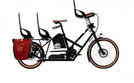 Vélo Cargo ou Cargobike - Bike43 model : ALPSTER E-SHIFT