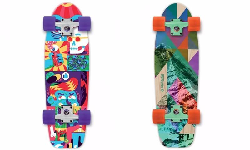 skateboard street surfing cruiser 28