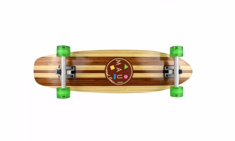 skateboard maui bamboo cruiser
