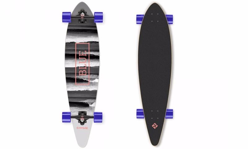 skateboard street surfing pintail 40