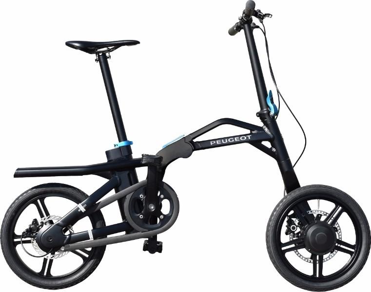 eF01 Pliant vélo Electrique Peugeot 2018 - Nouveauté