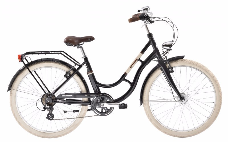 Zumba vélo urbain Gitane 2018